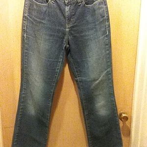 Tommy Hilfiger size 4P hipster boot blue jeans